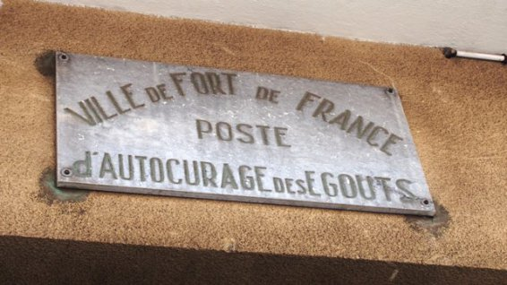Station autocurage des égouts de Fort-de-France