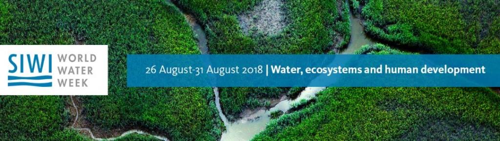 Semaine mondiale de l'eau 2018