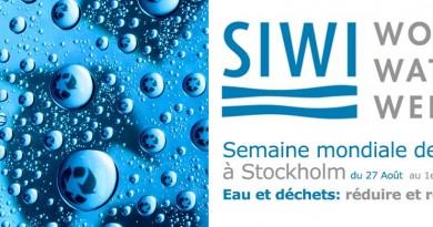 Semaine mondiale de l'eau à Stockholm